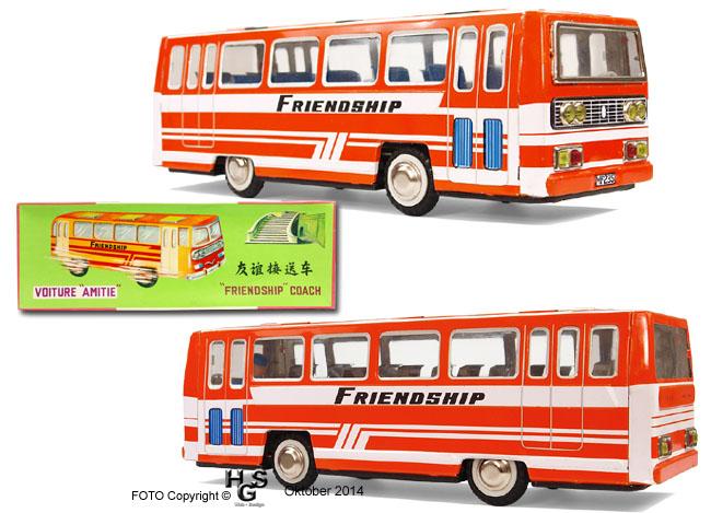 modellbusse  aus chine